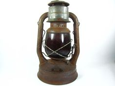 Hey, I found this really awesome Etsy listing at https://www.etsy.com/listing/182809662/railroad-lantern-miners-light-search