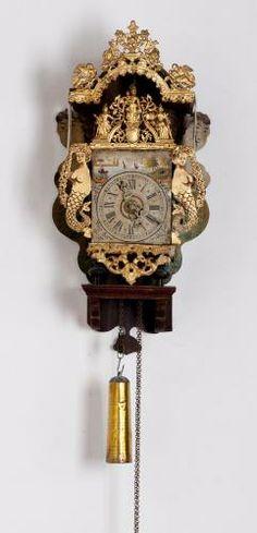 Stoelklok, Fries, ca.1775 | Collectie Gelderland