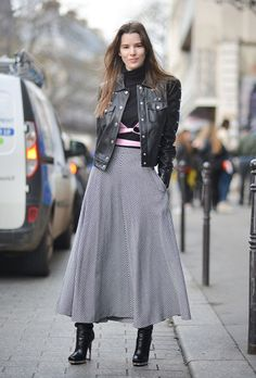 15 Layering Ideas from Fashion Week Fall 2016 Street Style | StyleCaster