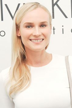 The actress's all-over blonde looks especially radiant lately, thanks to its glossy finish.