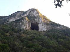 la cueva de Agapito, o la cueva de los murcielagos, en Santiago NuevoLeon