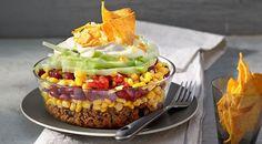 Partyrezepte für Kurzentschlossene: Nudelsalat, Bowle, Nacho-Salat & Co.
