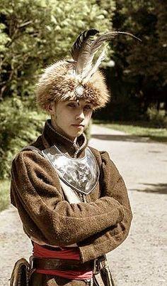 A young Polish nobleman. Szlachta, 17th century.