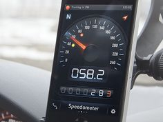 Speed Tracker UI. we re-pinned it b/c it's smooth,slick.