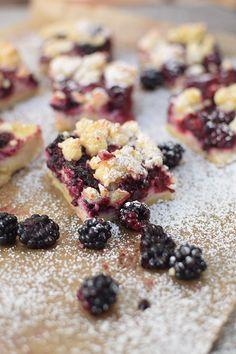 Brombeer Streuselkuchen - Blackberry Crumble Cake   Das Knusperstübchen
