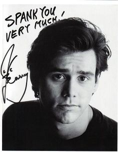 """Our background is similar and we share the same birthday...This man is a living proof of Power of Attraction.""""I love playing ego and insecurity combined.""""-Jim Carrey"""