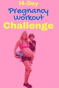 Im totally doing this Pregnancy Workout Challenge. This is great. Pictures and workout videos included Workouts can be done from home and they are short. I don't want to gain a lot of weight this pregnancy.  http://michellemariefit.com/pregnancy-workout-challenge-14-day-jumpstart/