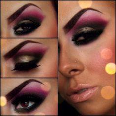 Impressive Pink Eye Shadow #eyeshadow #makeup #beauty