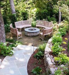 We create beautiful garden living spaces, for a concept fee never greater than Backyard Plan, Fire Pit Backyard, Lush Garden, Shade Garden, Garden Structures, Garden Paths, Small Gardens, Outdoor Gardens, Amazing Gardens