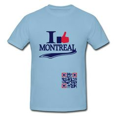 Je Like Montréal J'aime Montreal Sky Blue Adult Standard Weight T-shirt For Men Outlet-Cities & Countries T-shirts with 100% pre-cotton shirts with expert online help.  http://hicustom.net  to Print your own shirt with custom text, designs or photos.