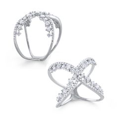 Double the Diamonds Crossover Ring