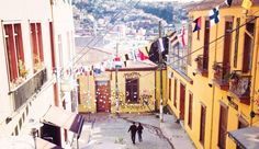 in… Valparaiso, Chile Street View, Travel, Trips, Viajes, Traveling, Outdoor Travel, Tourism