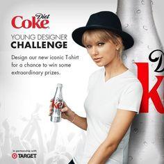 Taylor Swift for Diet Coke