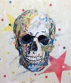 空想/幻想画「Skull スカル」[TOMOYA] | ART-Meter