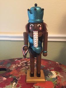 CLICK HERE TO PURCHASE from CustomNutcrackers.com. Get this unique Gymnast…