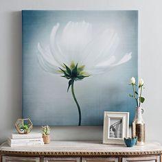 Linen Cosmos I Canvas Art Print | Kirklands