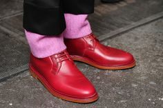 KITH X Adidas Flamingo Shoe BLEU