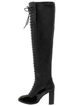 MOX - High Heel Stiefel - black bei Zalando ...Weitschaft