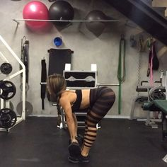 """3,000 Likes, 330 Comments - Vanessa (@bfitlikevane) on Instagram: """"Add this Lateral Lunge/RDL/Snatch to press to your next workout routine. This is great way to work…"""""""
