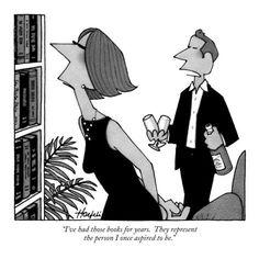 Quando fa visita a qualcuno per la prima volta, il Lettore Forte trova sempre il modo di studiare la libreria di casa