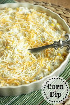Corn Dip - Diary of a Recipe Collector--Super easy appetizer to serve with Fritos or tortilla chips