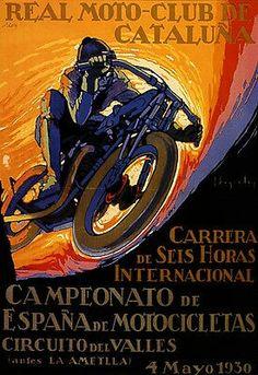 45e49f4b7a1 Circuit del Valles 1930 Racing Motorcycles, Vintage Motorcycles, Vintage  Bikes, Racing News,
