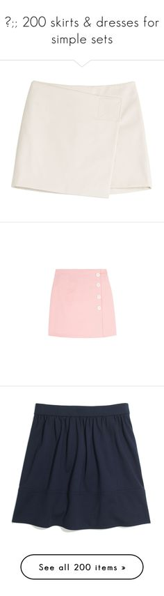 """""""✧;; 200 skirts & dresses for simple sets"""" by kickitap ❤ liked on Polyvore featuring kickitapcollections, skirts, mini skirts, bottoms, faldas, beige, short skirts, wrap mini skirt, beige skirt and marc by marc jacobs"""