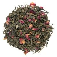 Sencha Kyoto Cherry Rose is a blend of high quality green tea with sweet cherry and morning rose flavor. A tea to remember. To this blend dried rose petals have been added to evoke the floral aromas of sitting beneath a cherry blossom tree. Simply stunning.