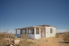 Landers California, abandoned house, Mojave Desert