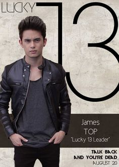 James Reid Top Timothy Odelle Pendleton Lucky 13 Talk Back You're Dead Cast Boys Names All Names Pictures Information Videos Filipino Models, Jim Sturgess, Movie Talk, Talking Back, Name Pictures, James Reid, You're Dead, Jadine, Music Composers