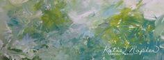 New 'Spring' Series coming soon! - Katie Napier Abstract Artist #art #original #abstractart #modernart