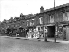 Pershore rd (nr corner of Sir John's Rd) Old Garage, Birmingham England, Wolverhampton, Best Cities, Historical Photos, Brighton, Liverpool, Street View, 1