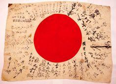 Japanese Soldier Rising Sun Flag | Original Rare WWII JAPANESE Rising Sun Soldiers by Frankiesteinz