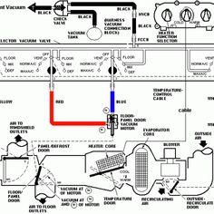 94 98 Mustang Air Conditioning Vacuum Controls Diagram Diagram Air Conditioning System Low Pressure