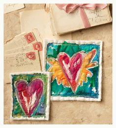 free motion quilting hearts