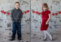 Wichita KS Kids Portraits, Valentines