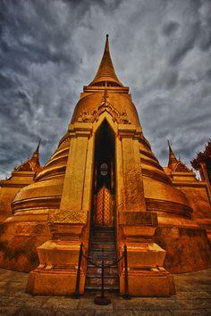 Wat Phra Kaew, Bangkok, Thailand  #travel #travelphotography #travelinspiration #thailand #wanderlust #YLP100BestOf