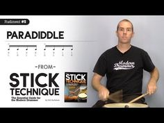Top-10 Rudiments, Part 4: Paradiddles (Video Drum Lesson from Modern Drummer magazine) - YouTube