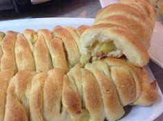 Ζουζουνομαγειρέματα: Πατατόπιτες με ζύμη πατάτας!!! Pie Recipes, Recipies, Hot Dog Buns, Food Processor Recipes, Food To Make, Food And Drink, Bread, Vegetables, Cooking