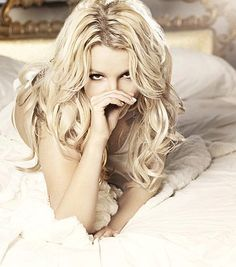 Britney Spears, hair styled by Philip Carreon.