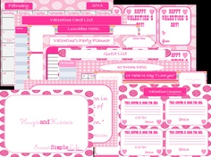 Valentine Printables for the Ones You Love. $7.00, via Etsy.