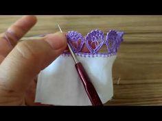 YouTube Crochet Border Patterns, Crochet Lace Edging, Irish Crochet, Crochet Stitches, Knit Crochet, Crochet Videos, Baby Blanket Crochet, Knitting Projects, Crafts