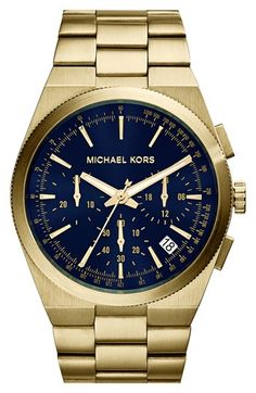 MICHAEL Michael Kors Michael Kors 'Channing' Chronograph Bracelet Watch, 43mm available at #Nordstrom