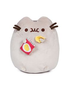 Pusheen soft toys sold on SUDDENLY CAT. Pusheen is a chubby grey tabby cat. Free shipping to Singapore. Perfect gift for a Pusheen obsessed person! :D