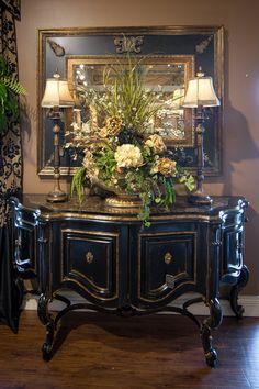Foyer Decorating, Tuscan Decorating, French Country Decorating, Interior Decorating, Interior Design, Casas Magnolia, Tuscany Decor, World Decor, Tuscan Style