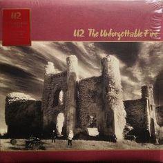 U2 - Unforgettable Fire LP Record Album On Vinyl