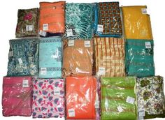 Ladies Dress Material Lot 20 pcs ( MRP 450 to 800) – Clothing Deck