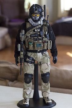 Military Action Figures, Custom Action Figures, Airsoft, Warrior Images, Ww2 Pictures, Cyberpunk Character, Tac Gear, Military Diorama, Military Gear