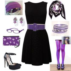 cute I don't have glasses and no leggings no head band ether if you do that the you have a very cute outfit