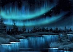 The Northern Lights by Spikyliek
